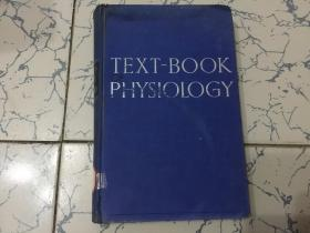 text-book of physiology  英文版;生理学教科书
