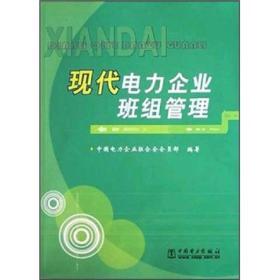 现代电力企业班组管理 中国电力企业联合会会员部 中国电力出版社 2004年01月01日 9787508323305