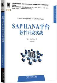 现货-SAPHANA平台软件开发实战