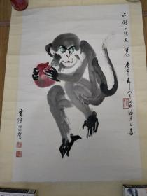俞云阶 画《画心44*6641》1980年作品