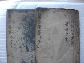 御纂医宗金鉴72-74卷 编辑外科心法要诀 发无定处 (上、下)