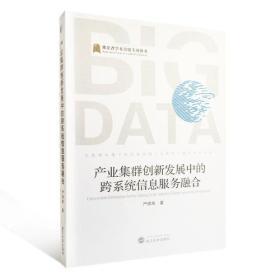 产业集群创新发展中的跨系统信息服务融合武汉大学严炜炜9787307182325