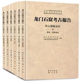 龙门石窟考古报告--东山擂鼓台区(套装全六卷)