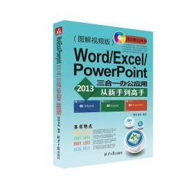Word/Excel/PowerPoint 2013三合一办公应用从新手到高手:图解视频版