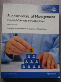 Fundamentals of management  9E Stephen P.Robbins 正版