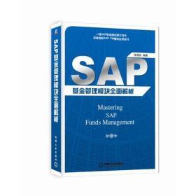SAP 基金管理模块全面解析9787111598916机械工业张朝良