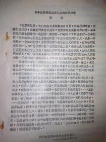 革命纪律是无政府主义的对抗力量油印稿-林三虎
