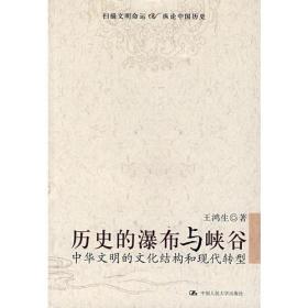 历史的瀑布与峡谷:中华文明的文化结构和现代转型