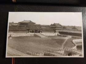民国北京紫禁城建筑老照片一张
