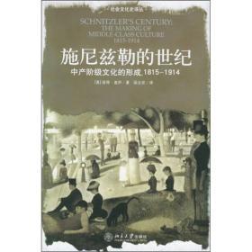 施尼兹勒的世纪:中产阶级文化的形成,1815-1914