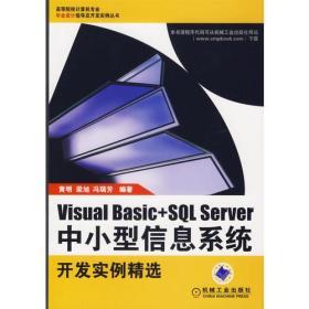 Visual Basic+SQL Server中小型信息系统开发实例精选