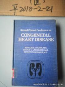 英文原版医学图书: CONGENITAL HEART DISEASE  先天性心脏病