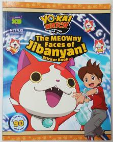 YO-KAI WATCH: The MEOWny Faces of Jibanyan! Paperback   YO-KAI看:Jibanyan MEOWny的面孔! 平装书