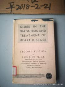 英文原版医学图书:心脏病诊断及治疗的几个线索  CLUES IN THE DIAGNOSIS AND TREATMENT OF HEART DISEASE