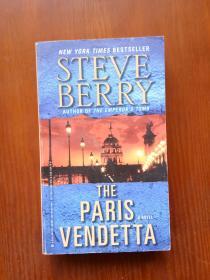 巴黎仇杀 The Paris Vendetta(Steve Berry) 英文原版