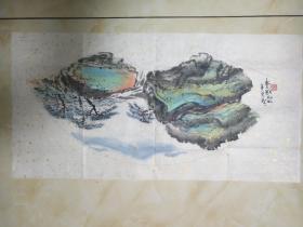 邵晓峰扇画