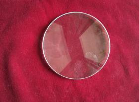 两面凸起的镜片,放大镜,直径9厘米