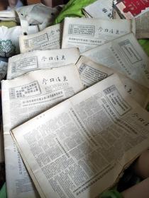 文革报纸:参政消息1971年2月1日-28日+3月1日-31日+4月1日-30日+5月1日-31日+1月16/17/18/19/20/21/22/23/26/27/28/29/31日+6月1-30日(缺8号和27号)+9月12/13日+8月13日+7月13日,一批合售