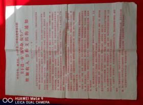 1967年抓革命促生产节约支出的通知宣传画布告包老2开