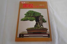 近代盆栽増刊号 黑松 黒松のすべて PART3  第3期   包邮  现货!