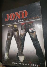 JOND( MAN S JEANS SPRING & SUMMER)2008.NO.2 (牛仔裤)