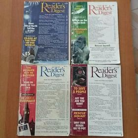 Readers Digest(4册合售):1992·May+April、1993·June+October