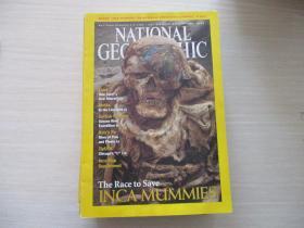 NATIONAL GEOGRAPHIC MAY 2002 有地图【627】