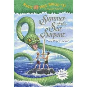 Summer of the Sea Serpent (Magic Tree House #31) 神奇树屋31