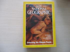 NATIONAL GEOGRAPHIC MAY 1998 有地图一张【627】