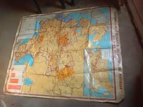 超大英文地图(不知哪个国家)