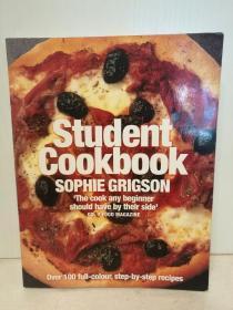 100道学生美食菜谱 Student Cookbook Over 100 Full-Colour, Stey-by Step Recipes by Sophie Grigson (美食与烹调)英文原版书