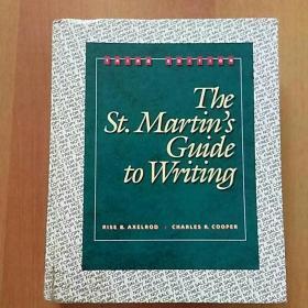 【外文原版】The St.Martins Guide to Writing