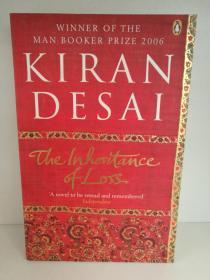 Kiran Desai :The Inheritance of Loss (印度) (Penguin 2006年版) 英文原版书