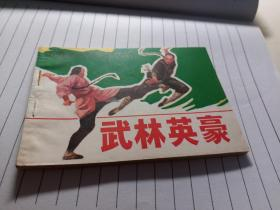 武林英豪 (中国武术故事连环画)