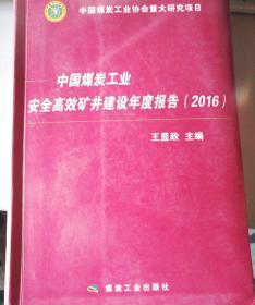 中国煤炭工业安全高效矿井 建设年度报告(2016)