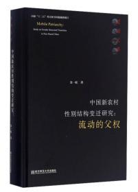 中国新农村性别结构变迁研究:流动的父权