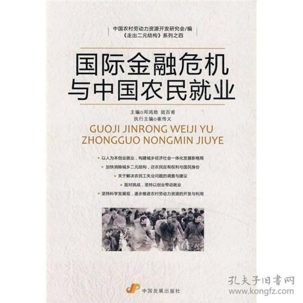 国际金融危机与中国农民就业