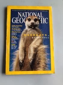 NATIONAL GEOGRAPHIC  september 2002(随书送大地图一张)