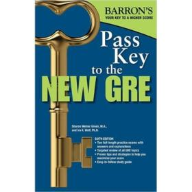 Pass Key to the New GRE (Barron's Pass Key to the GRE) 英文原版