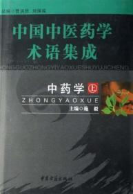 中国中医药学术语集成(上下)