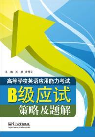 高等学校英语应用能力考试B级应试策略及题解