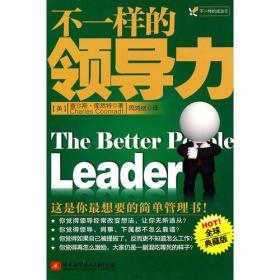 不一样的领导力