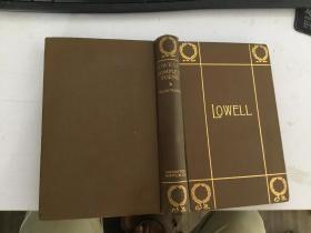 外文原版poetical works of james russell lowell书詹姆斯·罗素·洛威尔的诗作