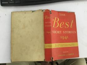 民国外文原版书 best short stories最好的短篇小说