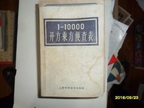 1-10000开方便查表