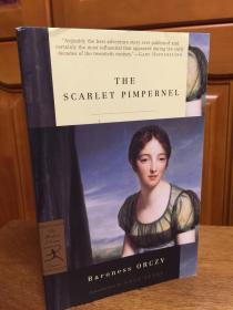 The Scarlet Pimpernel by Baroness Emmuska Orczy -- 艾玛 奥西兹《红花侠》modern library出品