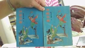 【老版武侠小说】神童荡魔 上下册全【32开,9品】,,西租屋水泥板下