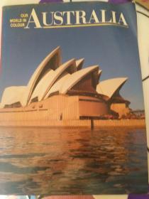 OUR WORLD IN COLOUR AUSTRALIA(详见图)