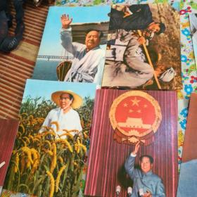 毛泽东毛主席老照片36张合售 32开 如图