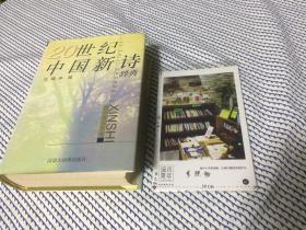 20世纪中国新诗辞典